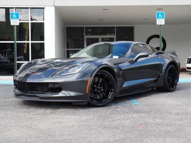 2018 Corvette Grand Sport >> Pre Owned 2018 Chevrolet Corvette Grand Sport 2d Coupe In