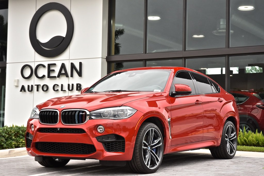 Pre-Owned 2016 BMW X6 M