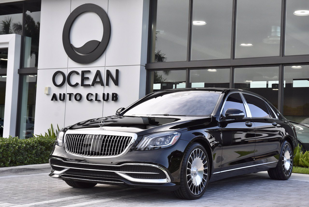 Pre-Owned 2020 Mercedes-Benz S-Class Maybach S560